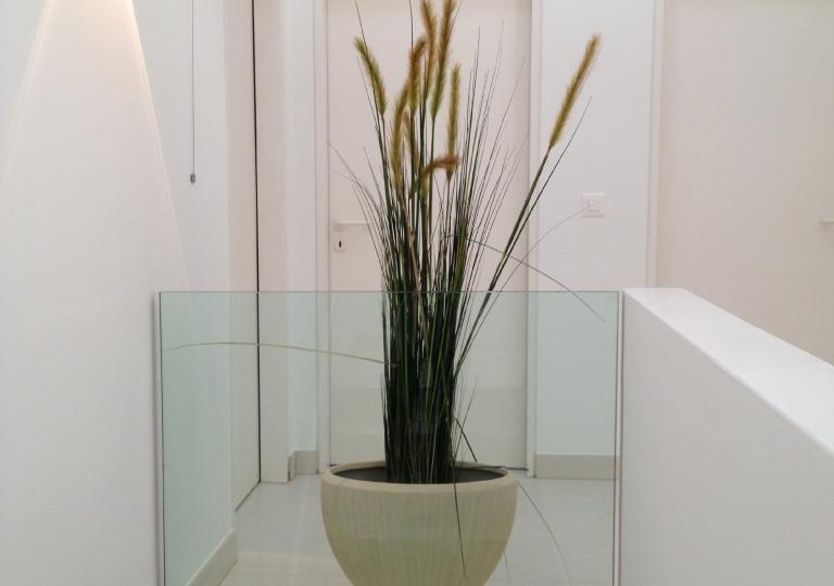 Glas Geländer 2